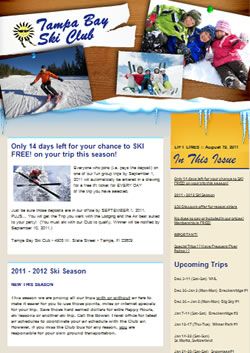 Lift Lines Newsletter